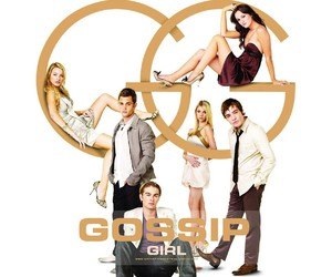 gossip girl, chuck bass, and gg image