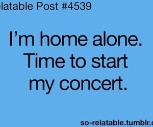 concert, home, and funny image