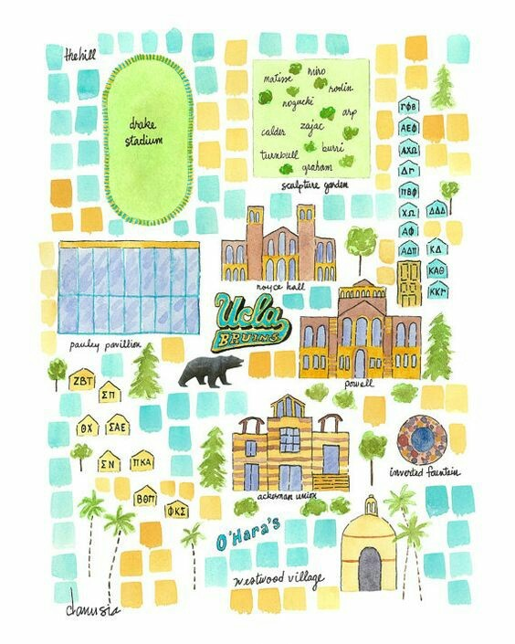 Hand drawn Map Of UCLA Campus! on We It on ucla mascot, ucla direction map, westwood map, ucla seal, ucla california map, ucla parking lot map, ucla tuition, ucla map pdf, ucla bruins, ucla housing, ucla map and area, campbell hall ucla map, ucla logo, ucla address, ucla residence hall map, ucla pool, ucla school map,