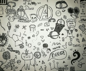 doodles and drawings image