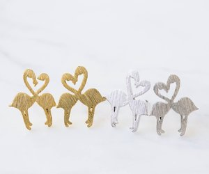 fashion jewelry, animal lover, and stud earrings image