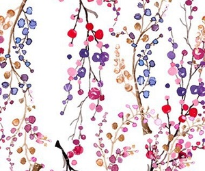 wallpaper, colors, and flowers image