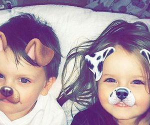 brother, filter, and cute image