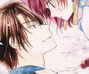 hak, yona, and akatsuki no yona image