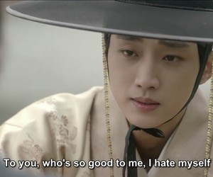 love in the moonlight, quotes, and kdrama image