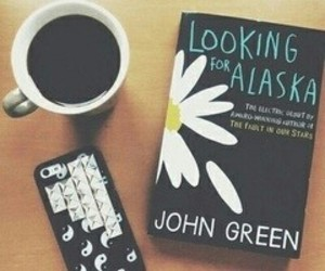 book, coffee, and iphone image
