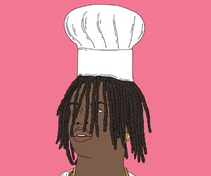 art, chief keef, and trill image