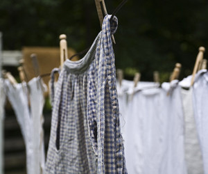 clothes line, garments, and fabric image