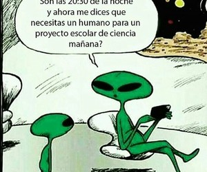 alien and funny image