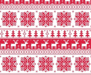 christmas, red, and background image