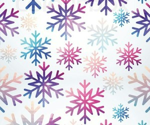 snowflake, pattern, and snow image