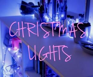 christmas, lights, and soon image