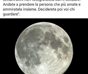 frasi, love, and moon image