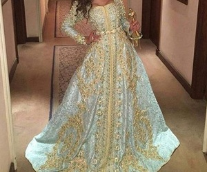 dress, morocco, and oriental image