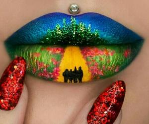 art, colours, and fashion image