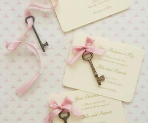 key, pink, and vintage image