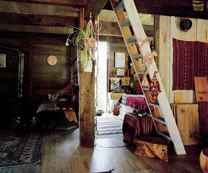 room, home, and hippie image