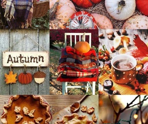 autumn, Collage, and december image