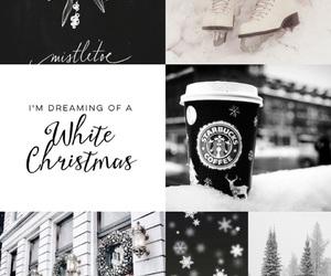 black, christmas, and color image