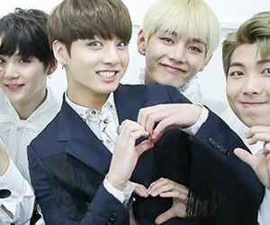 bts, v, and vkook image