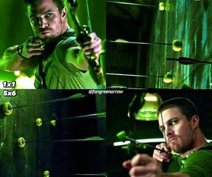 arrow, greenarrow, and oliverqueen image