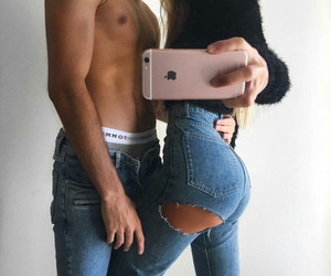 booty, couple, and grunge image