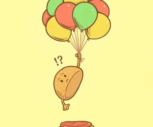 balloon, OMG, and wallpaper image