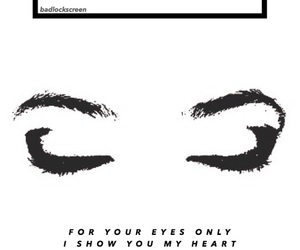 Lyrics, music, and random image
