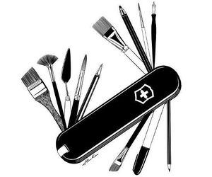 brush, draw, and drawing image