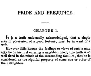 pride and prejudice, book, and jane austen image