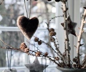 decoration, stars, and winter image