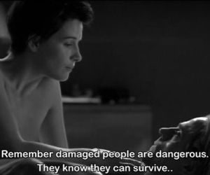 quotes, damaged, and people image