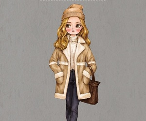 art, fashion, and outfit image