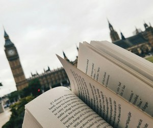 book, london, and travel image