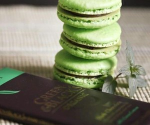 awesome, chocolate, and green image