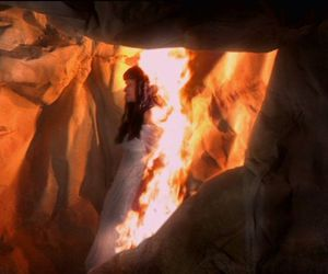 fire, test, and xena image