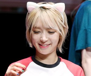 blonde, short hair, and kpop image