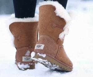 lifestyle, shoes, and winter image