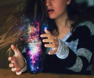 galaxy and magic image