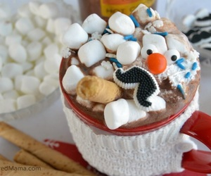 christmas, cocoa, and cozy image