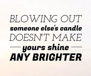 quote, candle, and inspiration image