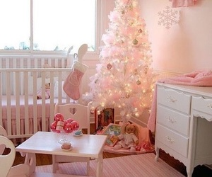 baby, christmas, and girl image