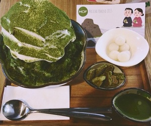 bingsu and matcha image