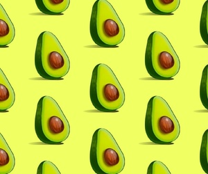 avocado, lit, and pattern image