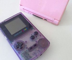 game boy, gaming, and pale image