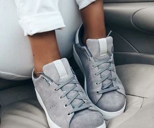 shoes, style, and grey image