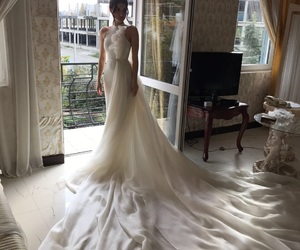 Couture, dress, and sweet image