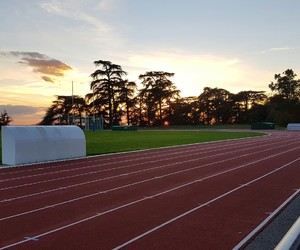 athletics, sunset, and magnifique image
