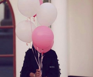 balloons, celebration, and modest image