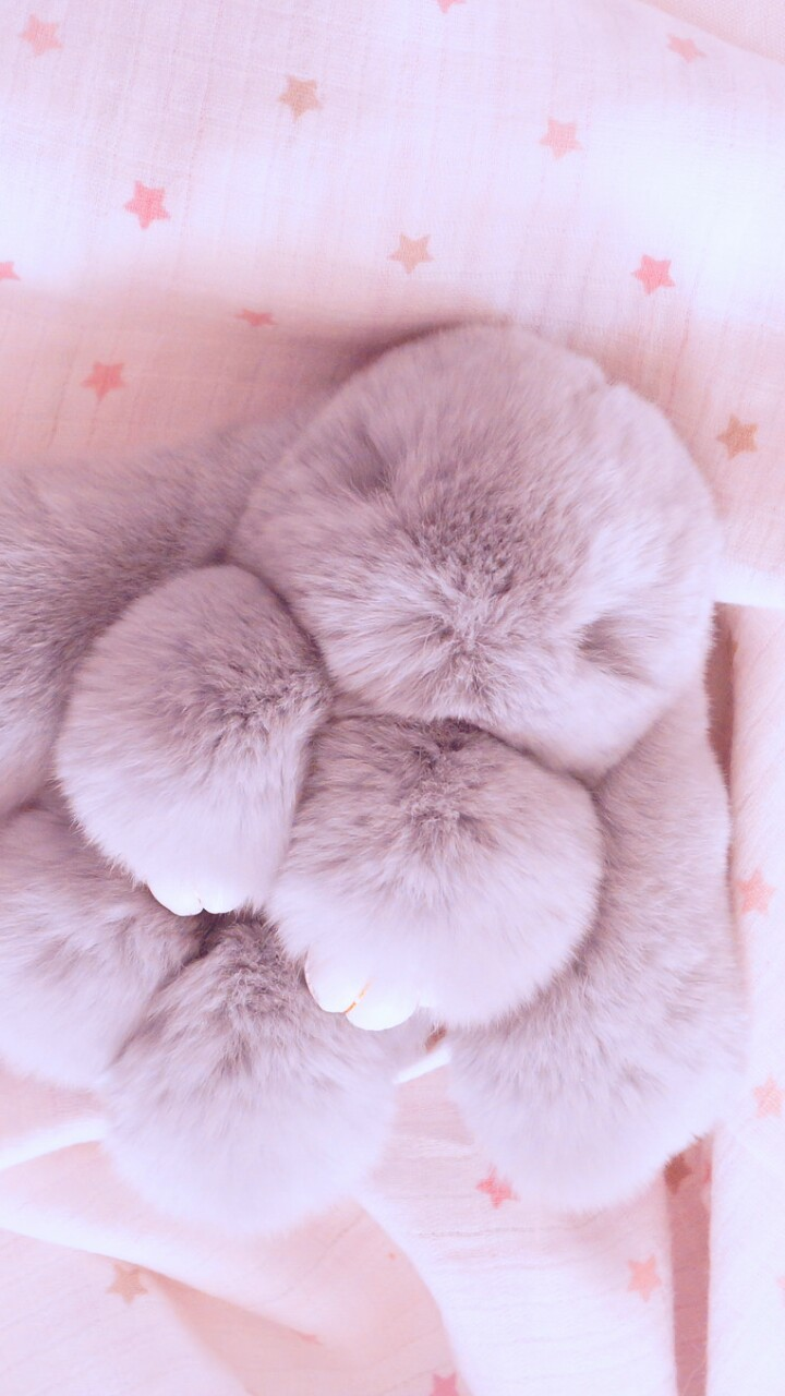 Animals Baby Background Beautiful Beauty Bunny Colorful Cute Animals Cute Baby Design Iphone Little Bunny Nature Pastel Plush Rabbit Sleep Soft Stars Still Life Style Vintage Wallpapers We Heart It Pink Background